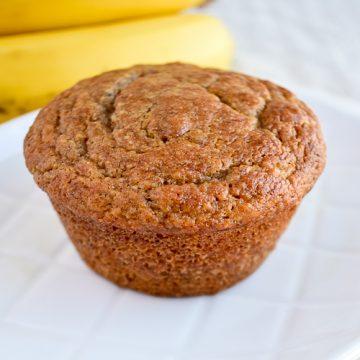 Muffins de banano sin gluten