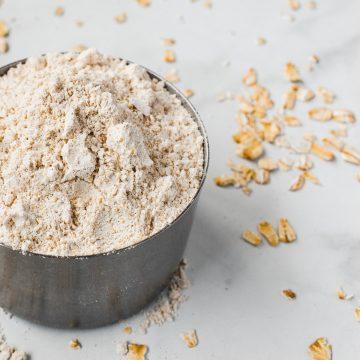 ¿Cómo hacer harina de avena?
