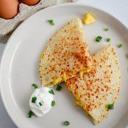 Wraps de Queso & Huevo